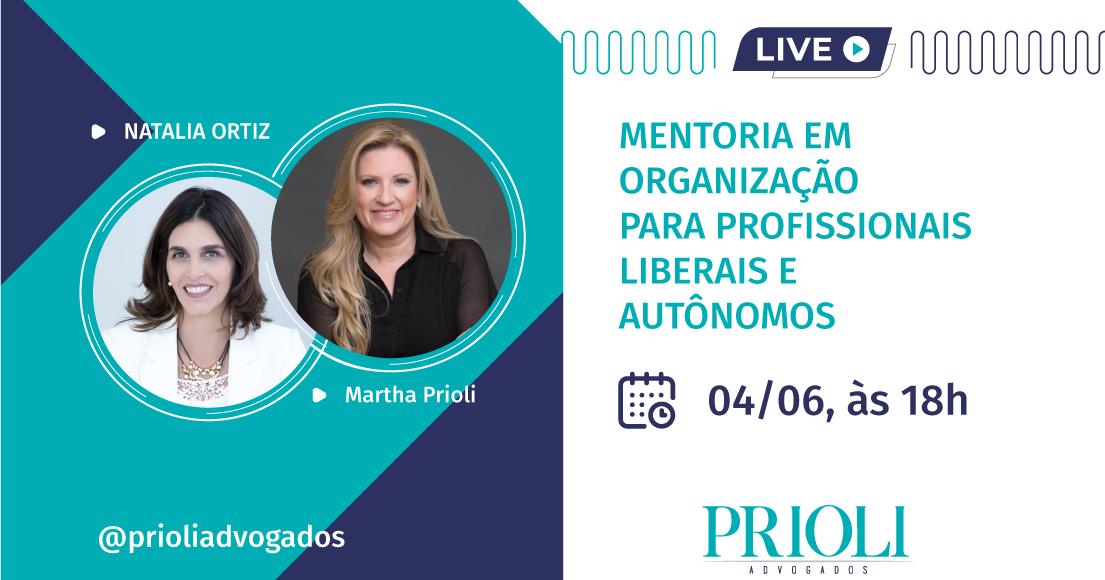LIVE | MENTORIA EM ORGANIZAÇÃO PARA PROFISSIONAIS LIBERAIS E AUTÔNOMOS