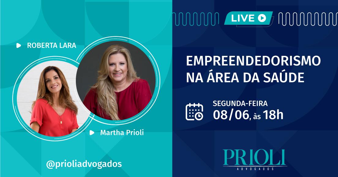 LIVE | EMPREENDEDORISMO NA ÁREA DA SAÚDE